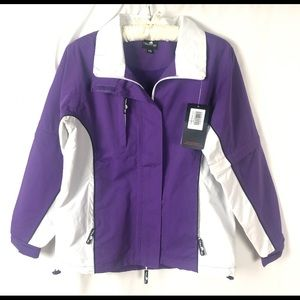 The Weather Co. Microfiber Rain Jacket XS NWT